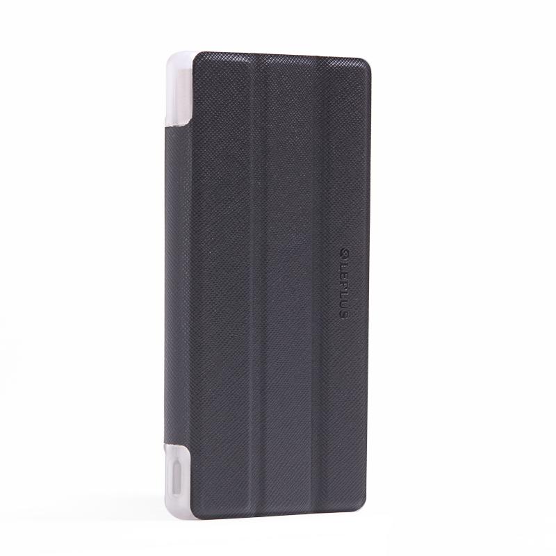 Xperia(TM) Z5 Premium SO-03H フラップケース 「Clear Note」 ブラック