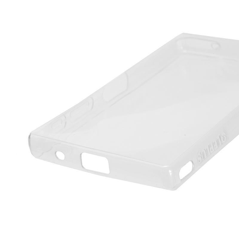 Xperia(TM) Z5 Compact SO-02H 超極薄TPUケース「ZERO SOFT」 クリアブラック