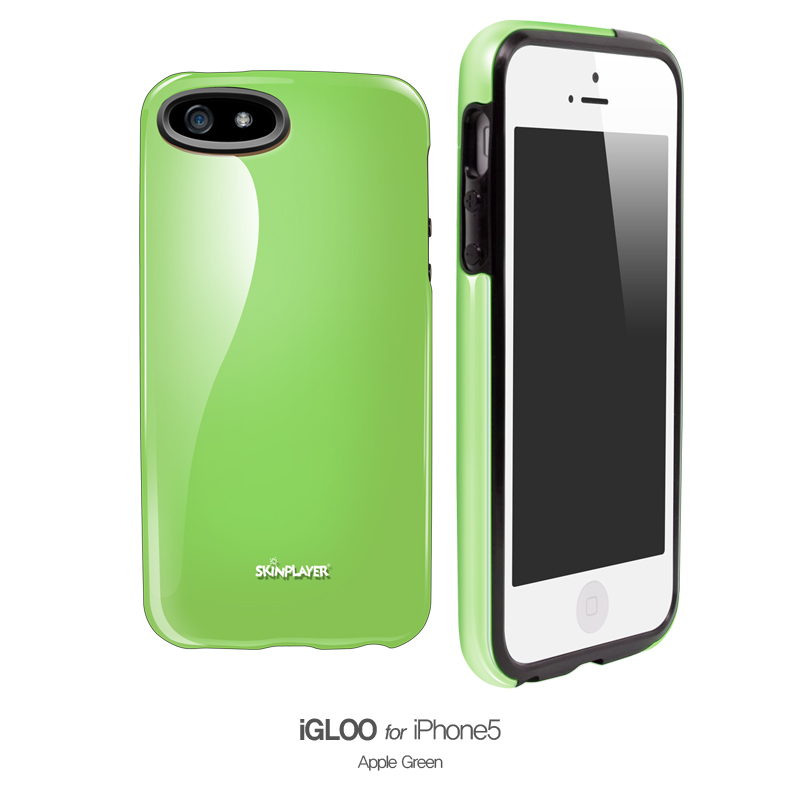 iGloo Apple Green (Inner Black)