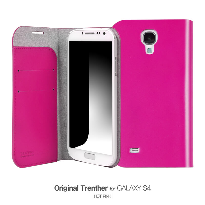 Trenther For Galaxy S4 ホットピンク