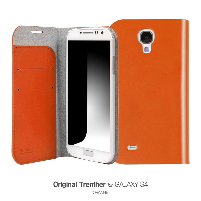 Trenther For Galaxy S4 オレンジ