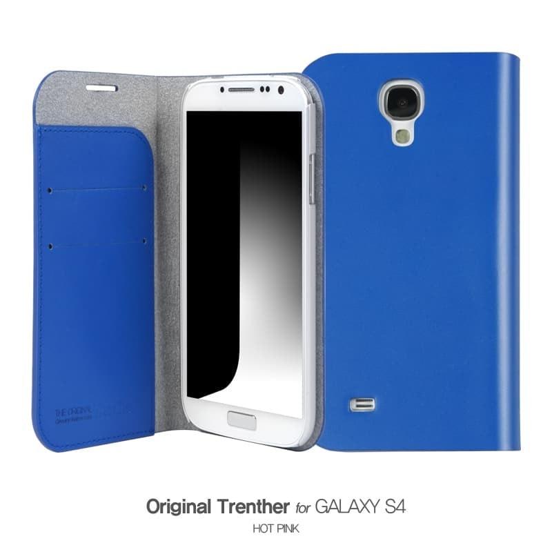 Trenther For Galaxy S4 スカイブルー