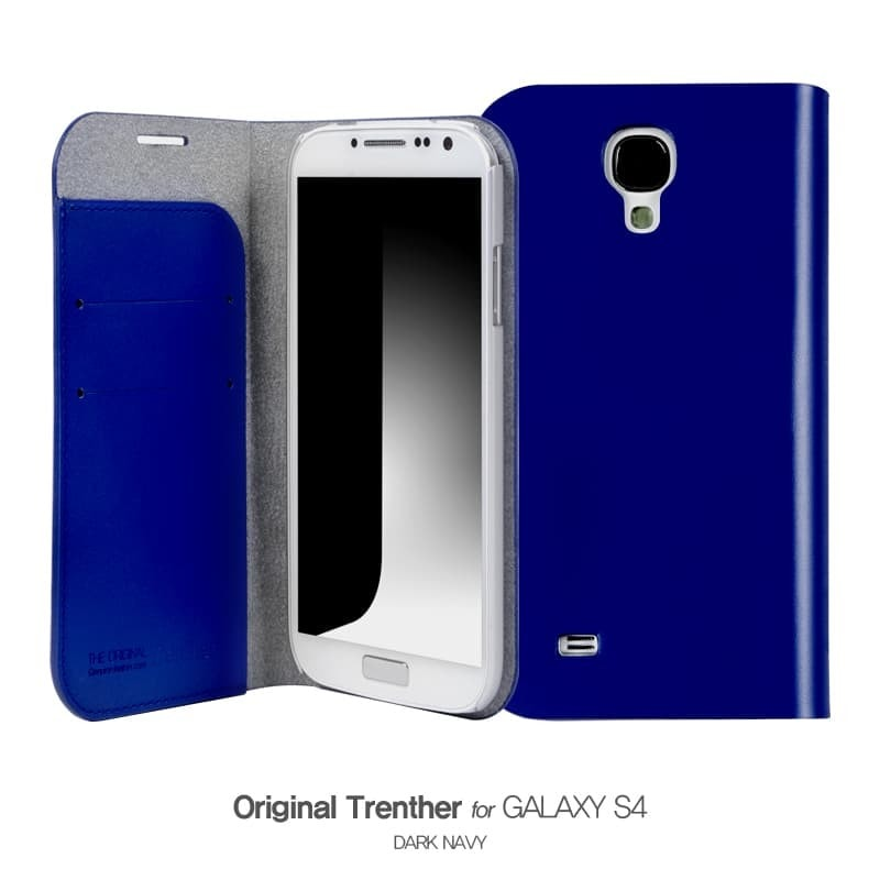 Trenther For Galaxy S4 ダークネイビー