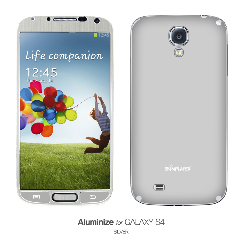 Aluminize for Galaxy S4 シルバー