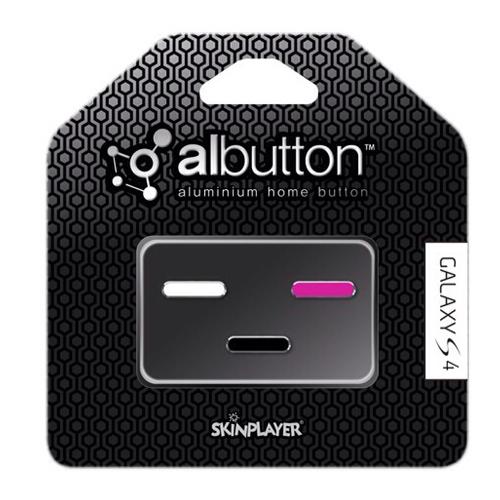 Albutton for Galaxy S4 (White / Pink / Black)