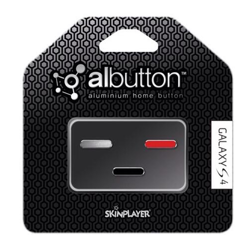 Albutton for Galaxy S4 (Silver / Red / Black)