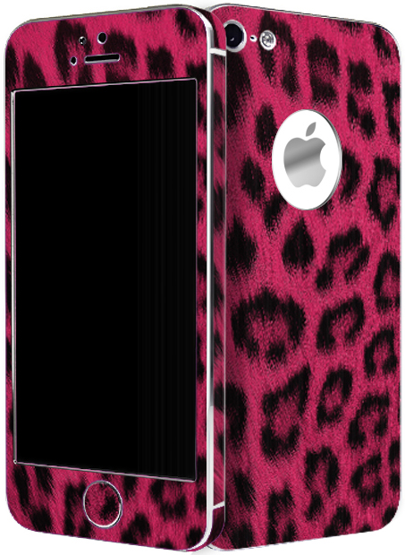 Aluminize Leopard Pink