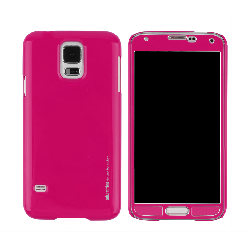 Aluminize Case for Galaxy S5 Hot Pink