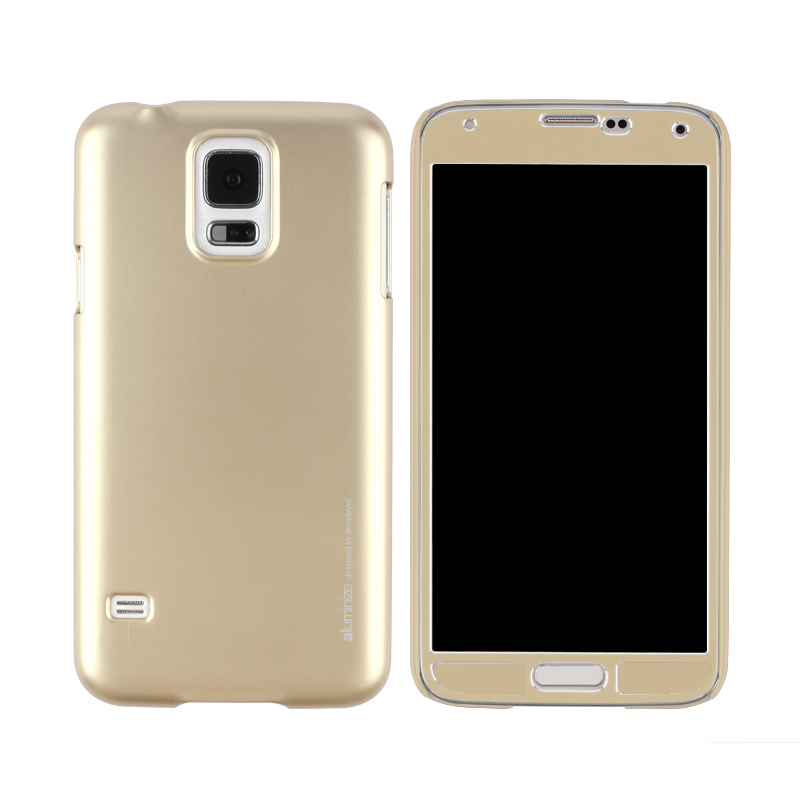 Aluminize Case for Galaxy S5 Gold
