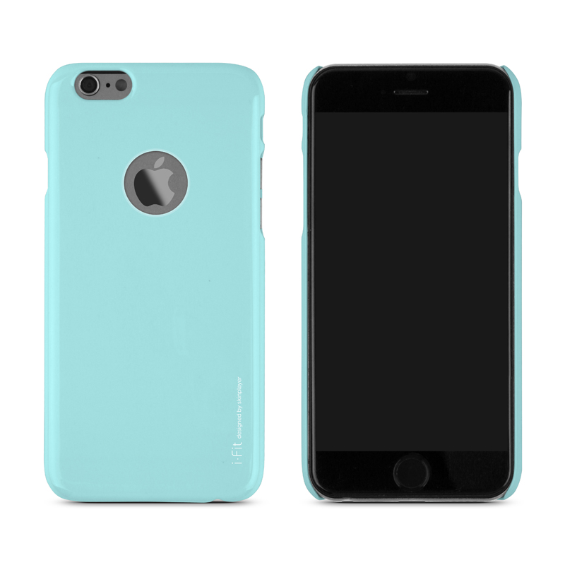 iPhone 6 [i-Fit] ハードケース Light Mint