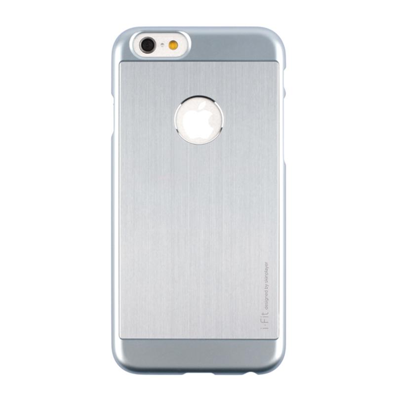 iPhone 6_6S [iFit PAC] ハード&アルミケース Gunmetal / Gunmetal