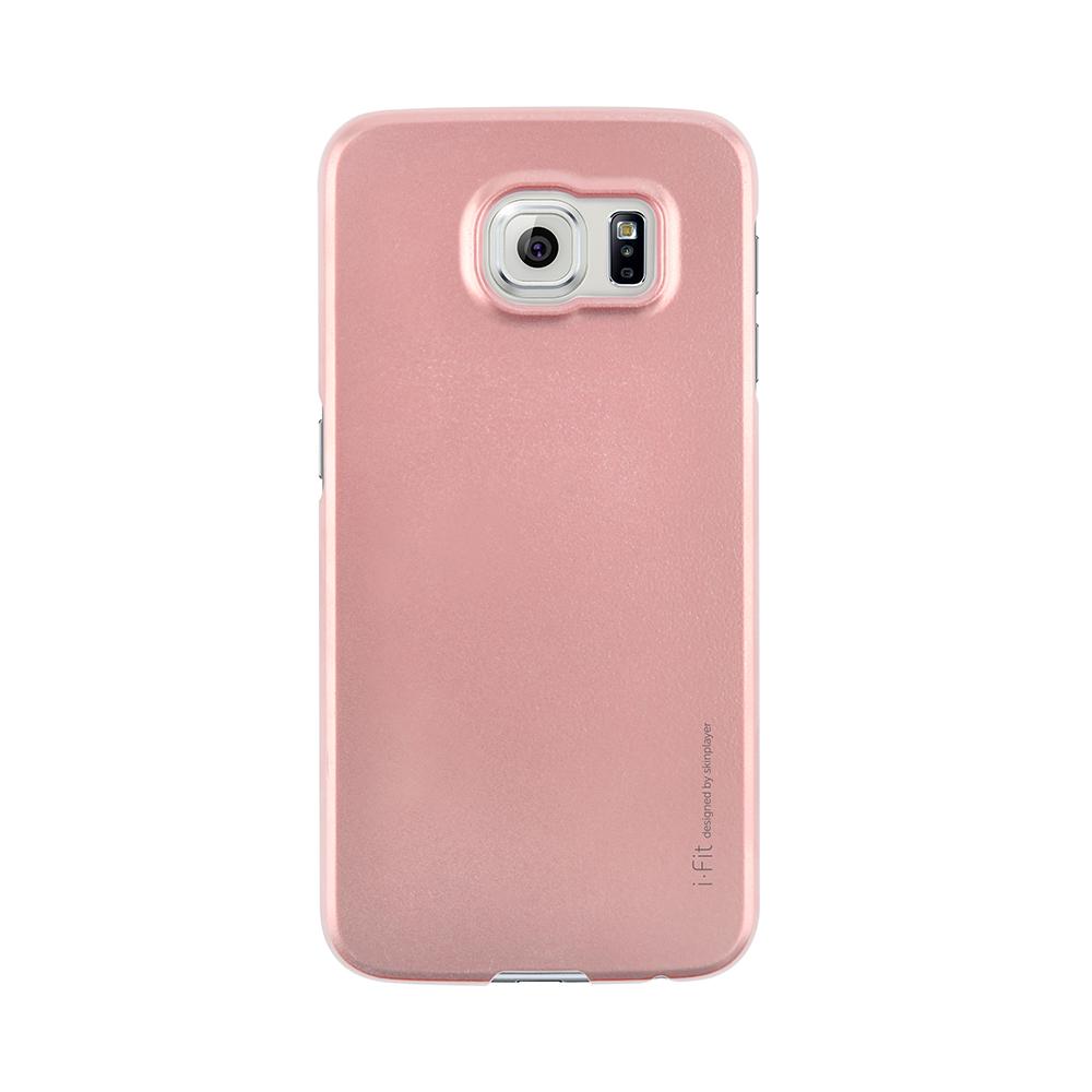 Galaxy S6 SC-05G [i-Fit] ハードケース Metal Pink