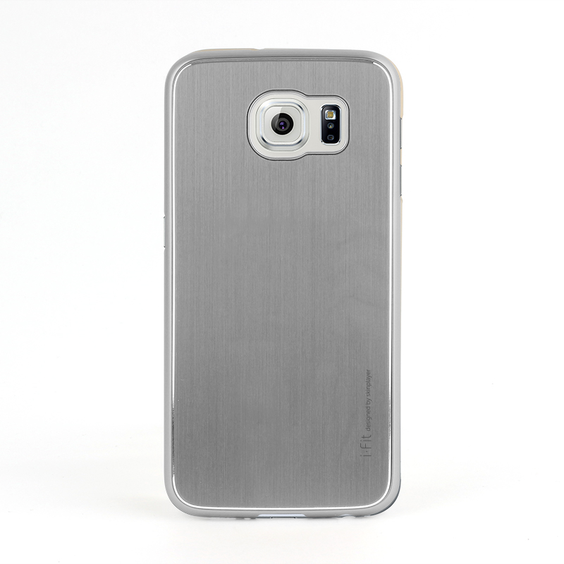 Galaxy S6 SC-05G [i-Fit PAC] ハードケース Silver / Silver