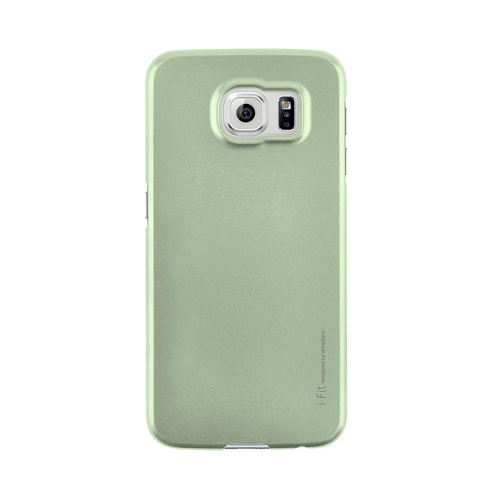 Galaxy S6 edge SC-04G/SCV31 [i-Fit] ハードケース Metal Green
