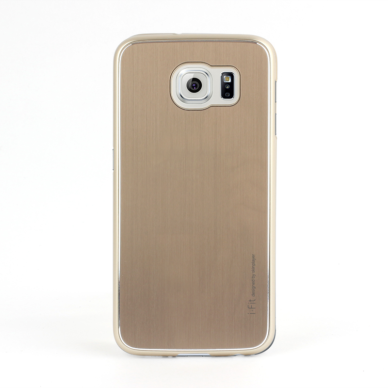 Galaxy S6 edge SC-04G/SCV31 [i-Fit PAC] ハードケース Gold /Gold