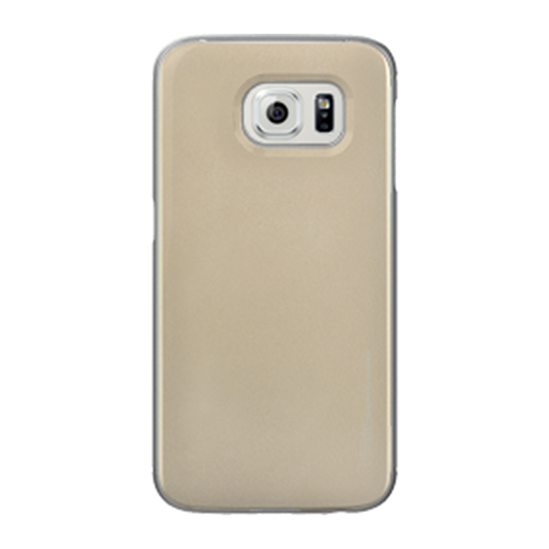 Galaxy S6 edge SC-04G/SCV31 [iSlide] カード収納型ハードケース Gold / Gold