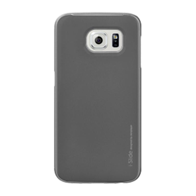 Galaxy S6 edge SC-04G/SCV31 [iSlide] カード収納型ハードケース Titanium / Titanium