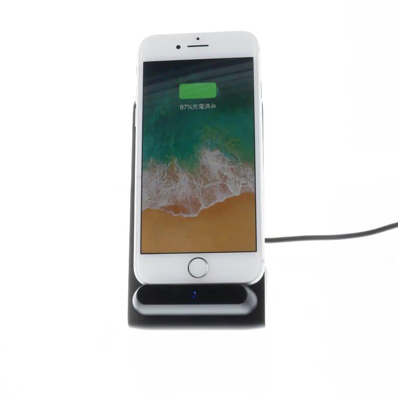スマートフォン(汎用)/Qi(チー)ワイヤレス充電器/WiDock