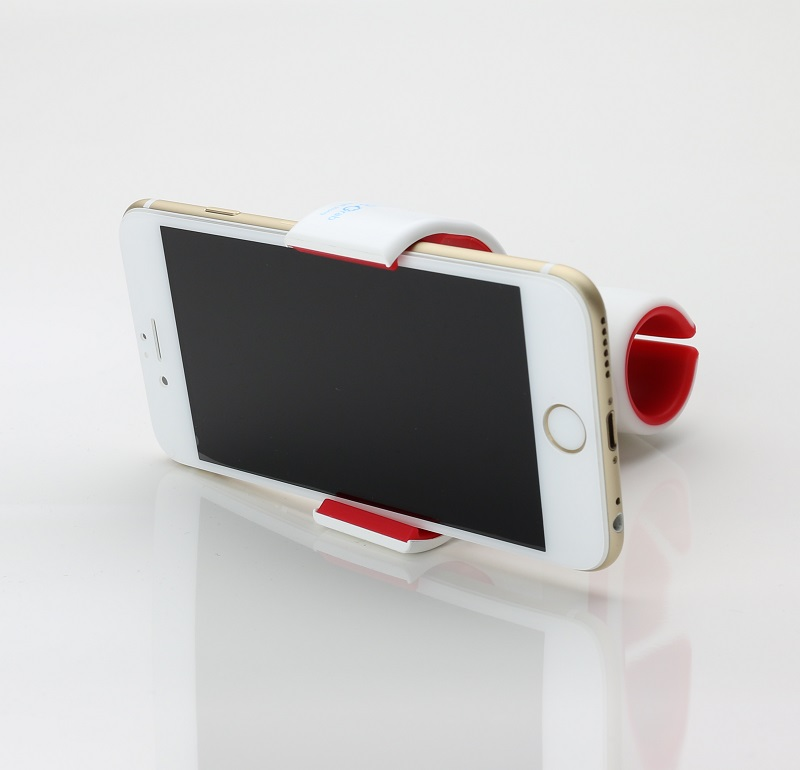 スマートフォン(汎用) 多機能スマートフォンホルダー「xenomix Grab」 ブラック/グレー