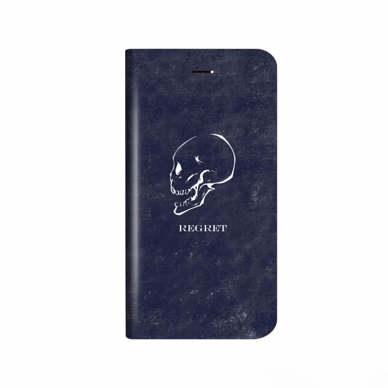 iPhone X 薄型デザインPUレザーケース「Design+」 REGRET
