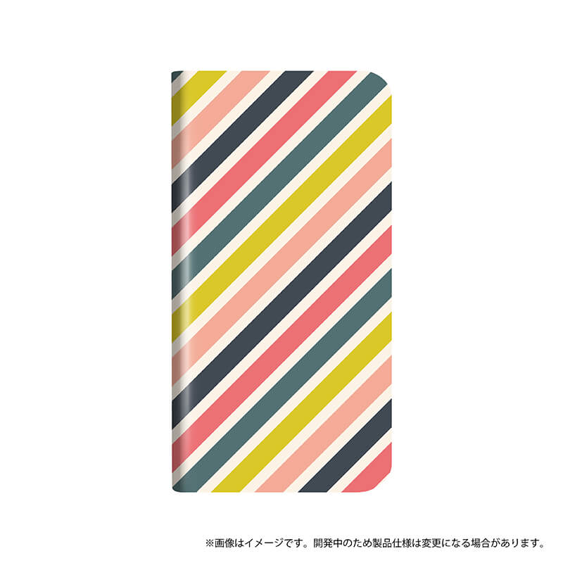 AQUOS sense plus/Android One X4 薄型デザインPUレザーケース「Design+」 HONEY STRAIGHT