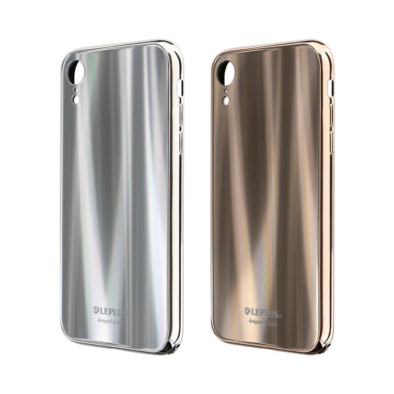 iPhone XR 背面ガラスシェルケース「SHELL GLASS PREMIUM」