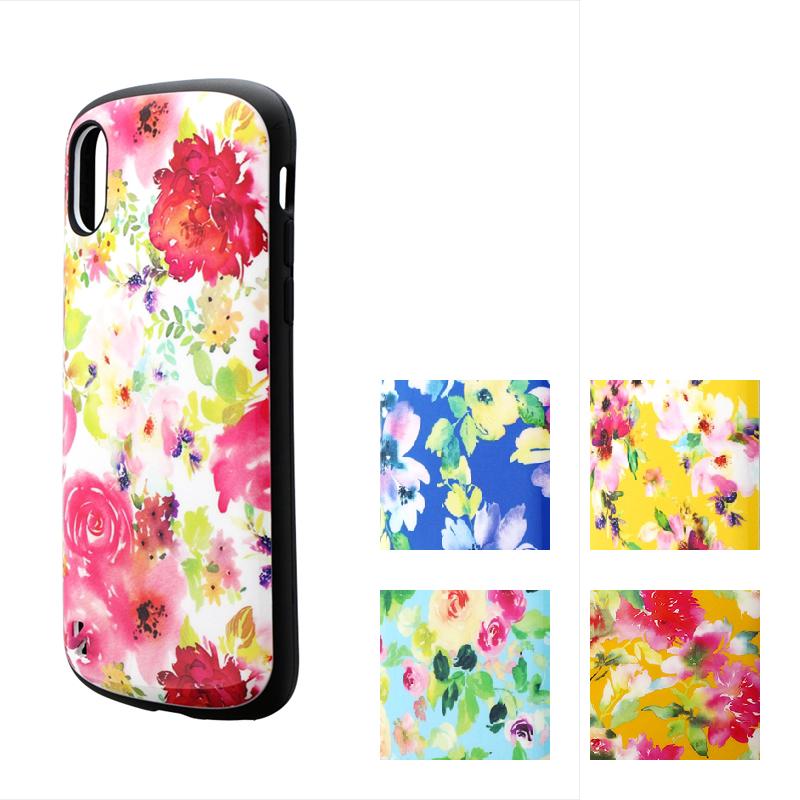 iPhone XS/iPhone X 耐衝撃ハイブリッドケース「PALLET Design」