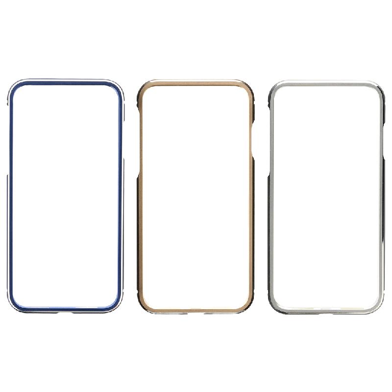 iPhone XS/iPhone X 簡単着脱アルミバンパー「Aluminum Bumper」