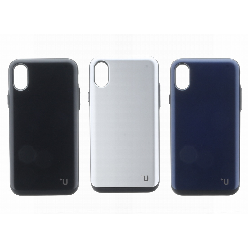 iPhone XS/iPhone X Kyle/Slide式カード収納ハイブリットケース