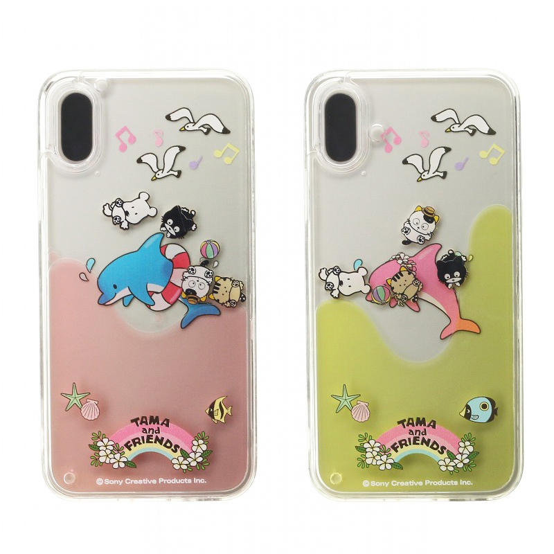 iPhone XS/iPhone X タマ&フレンズ Design/ウォーターハイブリットケース
