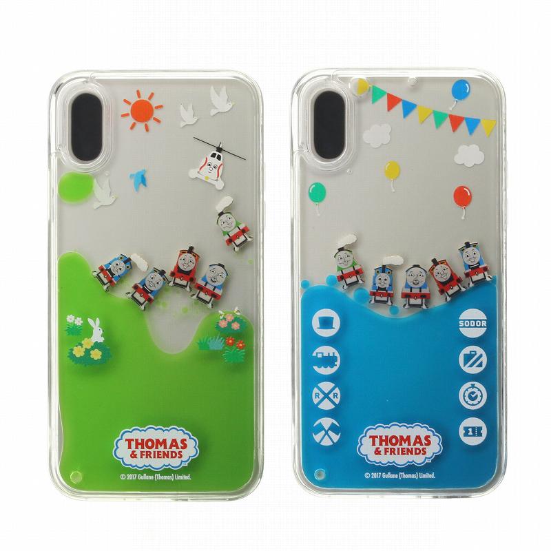 iPhone XS/iPhone X トーマス Design/ウォーターハイブリットケース
