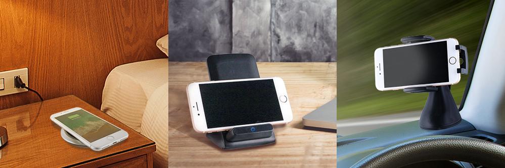 スマートフォン汎用【ENERGER】Qi(チー)ワイヤレス充電器