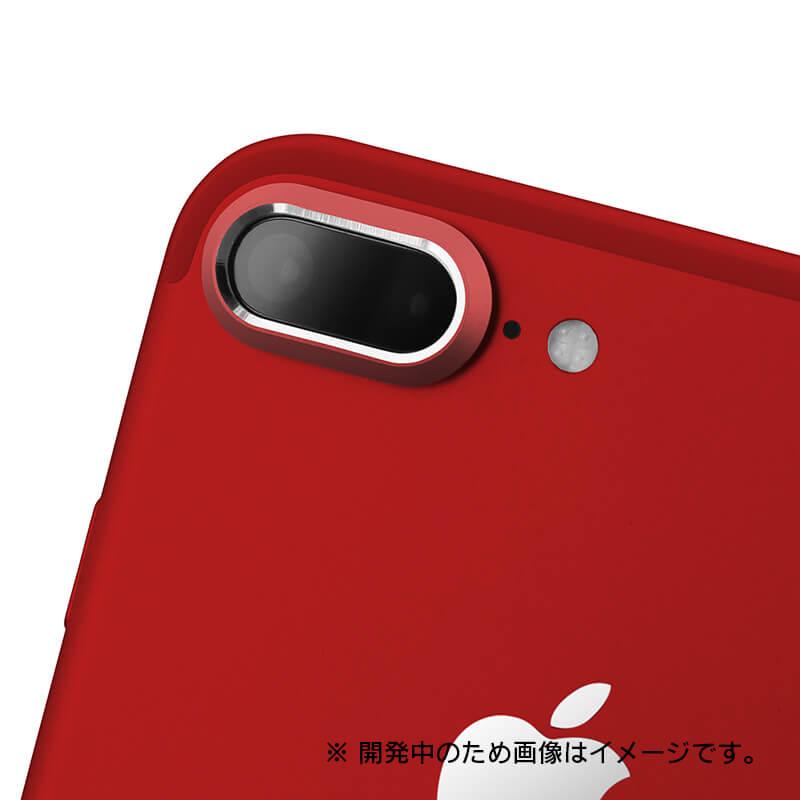 iPhone7 Plus カメラレンズプロテクター「Rich Lens」レッド