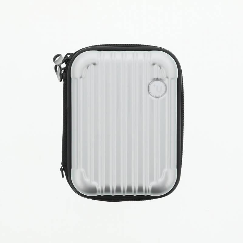 【+U】Noah/キャリーケース風Electronic Cigarette Case/シルバー