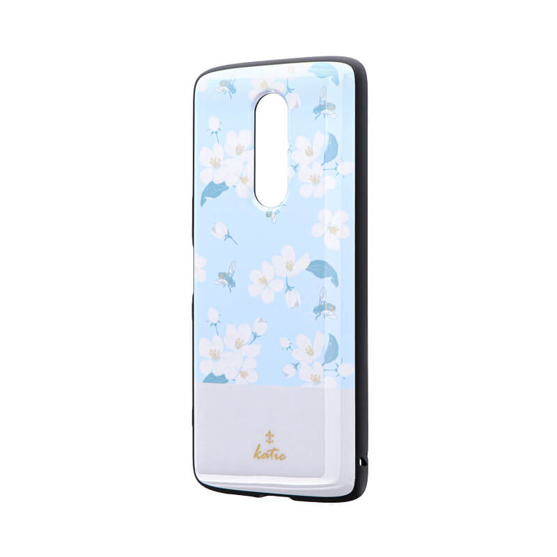 Xperia 1 SO-03L/SOV40/SoftBank 耐衝撃ハイブリッドケース 「PALLET AIR Katie」 A