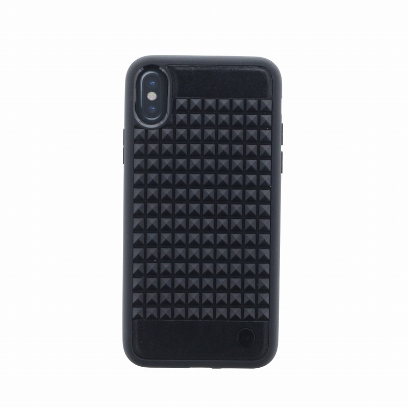 iPhone X/シェル型ケース/耐衝撃/Cloute/Eclipse(Black)
