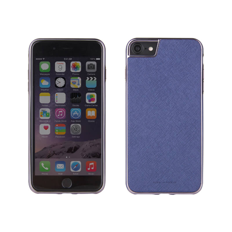 iPhone 7/シェル型ケース/PU仕様/Eterno Collection/Marine(Blue)