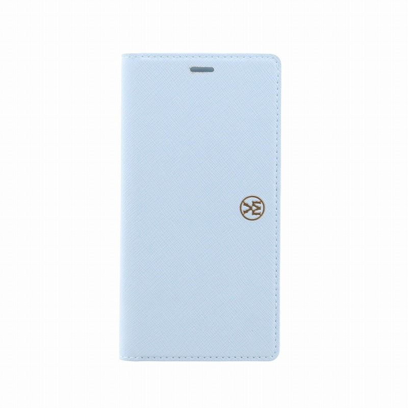 iPhone X/手帳型ケース/薄型PU/Ramito Collection/Forget-me-not(Blue)